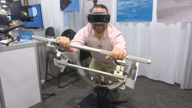 CES 2016 Immersed with Virtual Reality