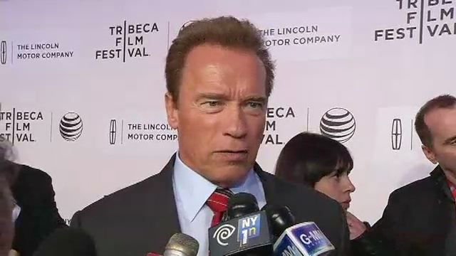 Schwarzenegger's First Low-Budget Flick 'Maggie' Premieres at Tribeca