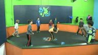 Fit Kids: Gaga Ball Game Offers High Energy Fun