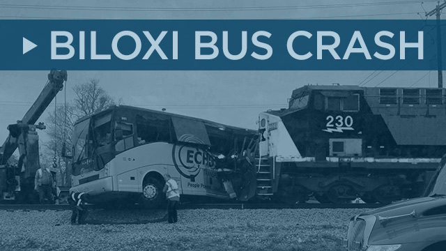 Spectrum News Biloxi Bus-Train Crash