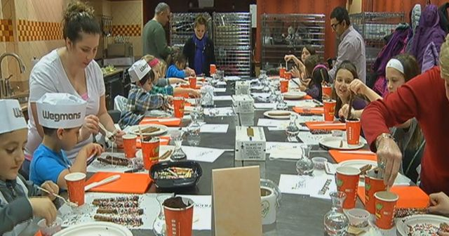 wegmans hosts  u0026quot cooking with kids u0026quot  event