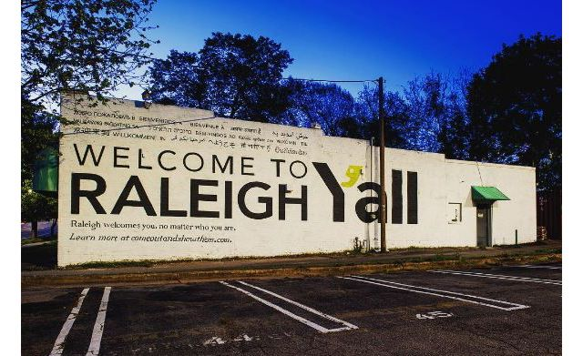 Raleigh Couple Behind Welcome To Raleigh Y All