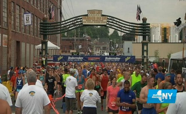 With Free Beer, Boilermaker 15K a Must-Run for Many Across New York