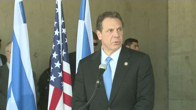 NY governor condemns United States  anti-Semitism on Israel trip