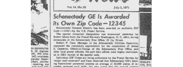 12345: The Easiest ZIP Code in the Country, Toughest to Sort Mail in Schenectady