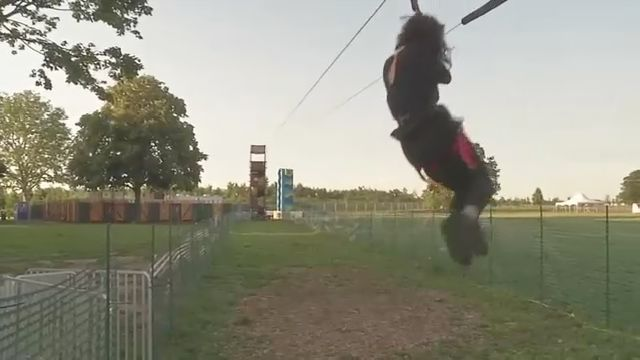 Zip Line Now Open on Governors Island