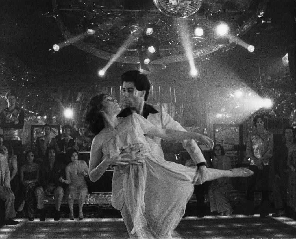 saturday night fever turns 40 read fun facts from travolta 39 s big screen disco inferno. Black Bedroom Furniture Sets. Home Design Ideas