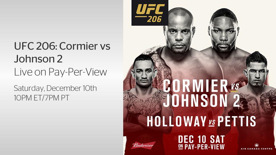 Image result for Cormier vs Johnson 2 Live logo