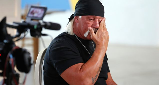 Hulk Hogan sat down for an interview with Amy Robach to air on Good Morning America on the ABC Tel