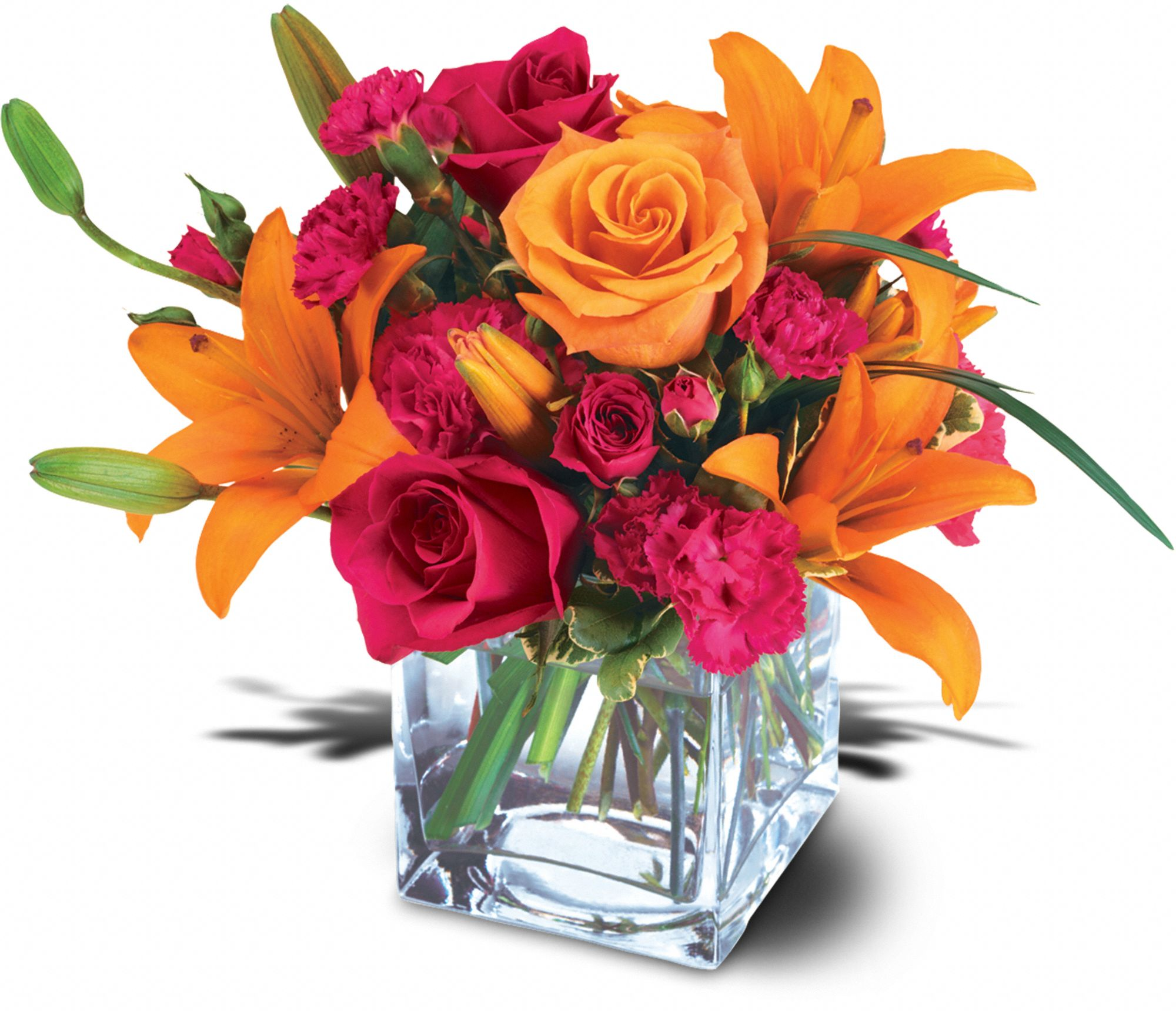 Teleflora's Uniquely Chic Bouquet in St. Louis MO, Blooms In The Loop<br>800-209-7889