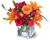 Teleflora's Uniquely Chic Bouquet in Mobile AL, Zimlich Brothers Florist & Greenhouse