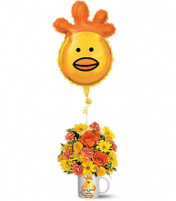 Teleflora's Dr. Chicken Bouquet Flowers