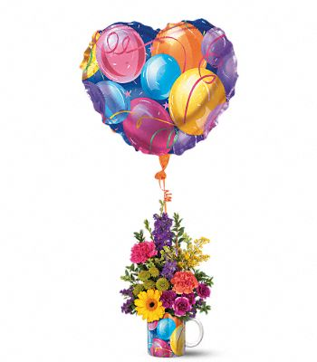 Teleflora's Hip Hip Hooray Bouquet Flowers