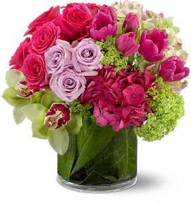 Floral Fantasia Flowers, Floral Fantasia Flower Bouquet - Teleflora.com :  flower teleflora tulips bouquet