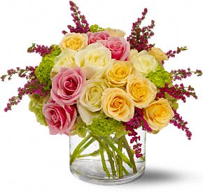 Enchanted Roses Flowers, Enchanted Roses Flower Bouquet - Teleflora.com :  pink enchanted roses flowers roses peach