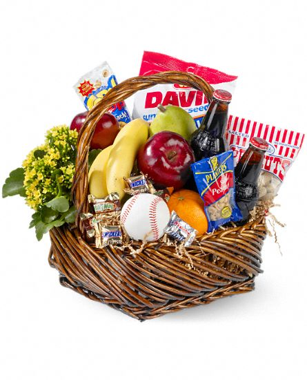 Home Run  Gift Basket