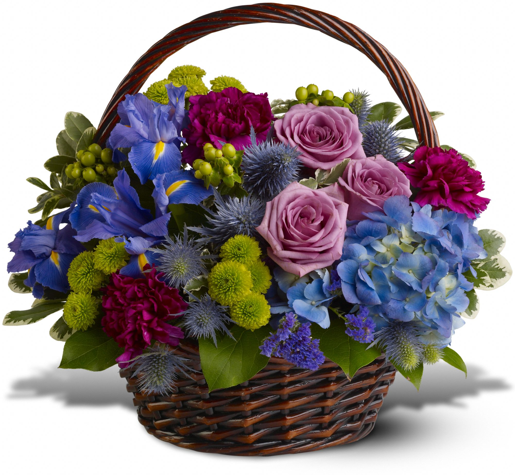Hunt Valley Florals & Gifts, Hunt Valley, Maryland - Twilight Garden Basket, picture