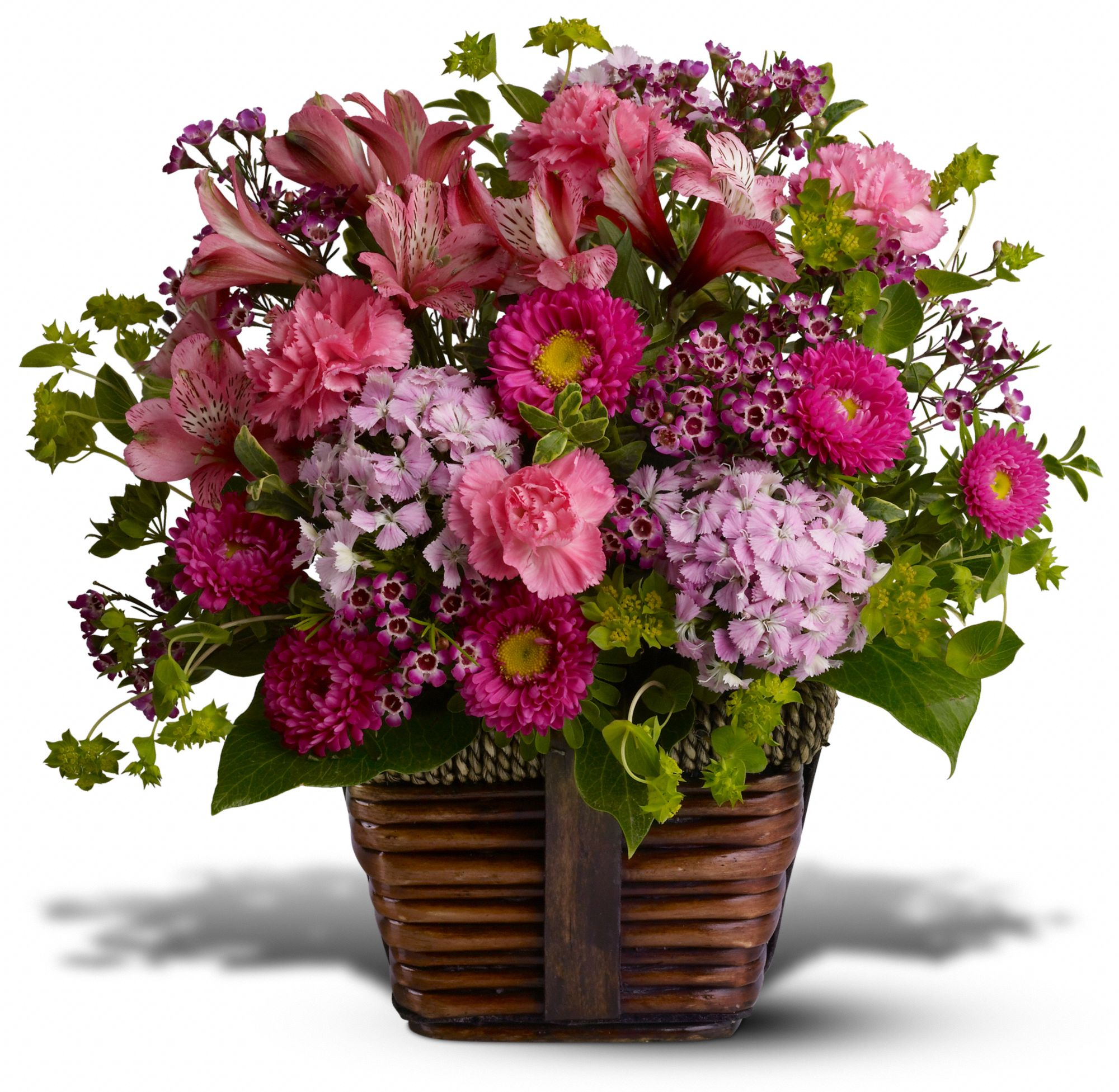 Flowers Coupons Teleflora Happily Ever After Gift Basket Standard Teleflora
