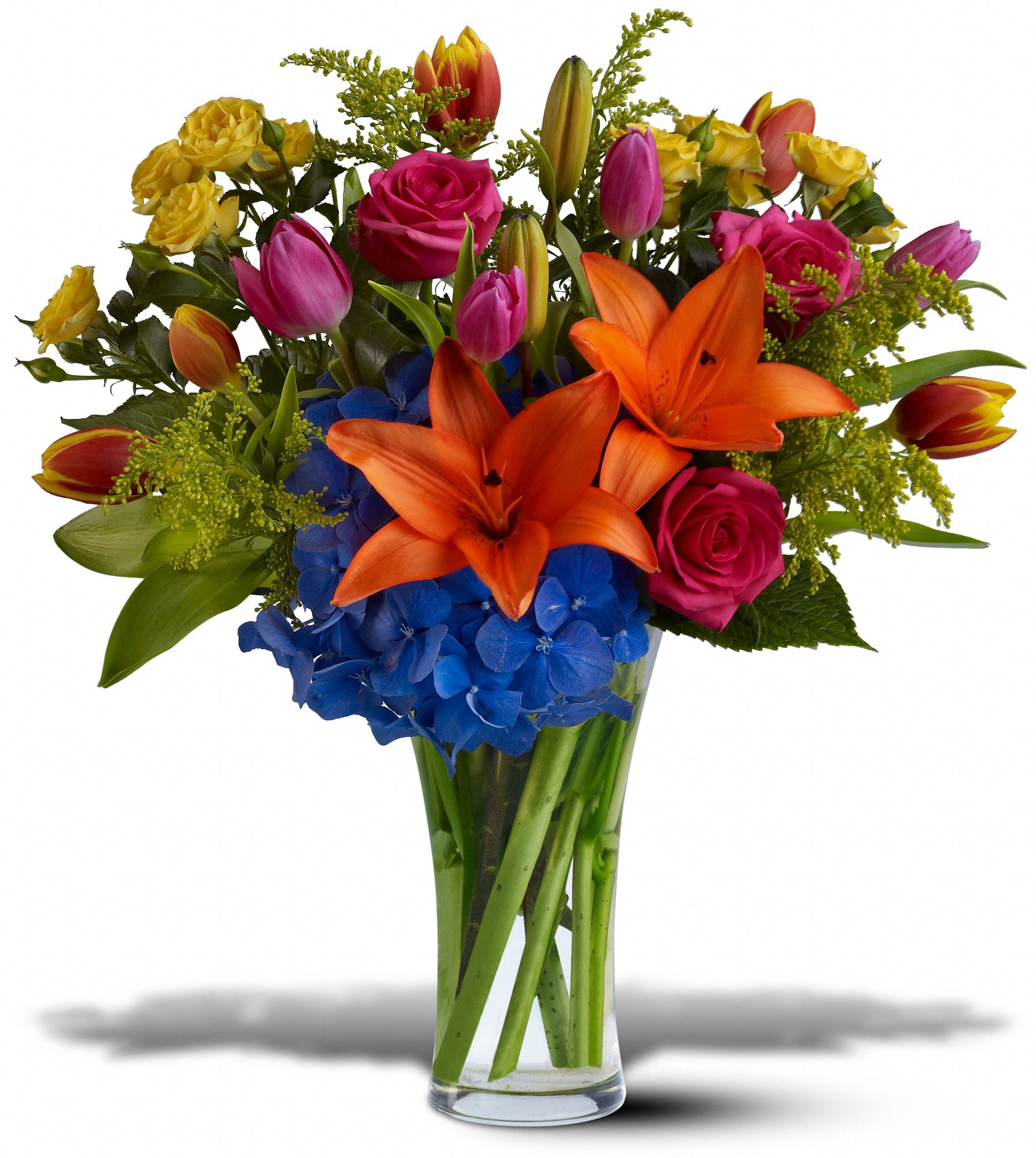 Hunt Valley Florals & Gifts, Hunt Valley, Maryland - Burst of Color, picture