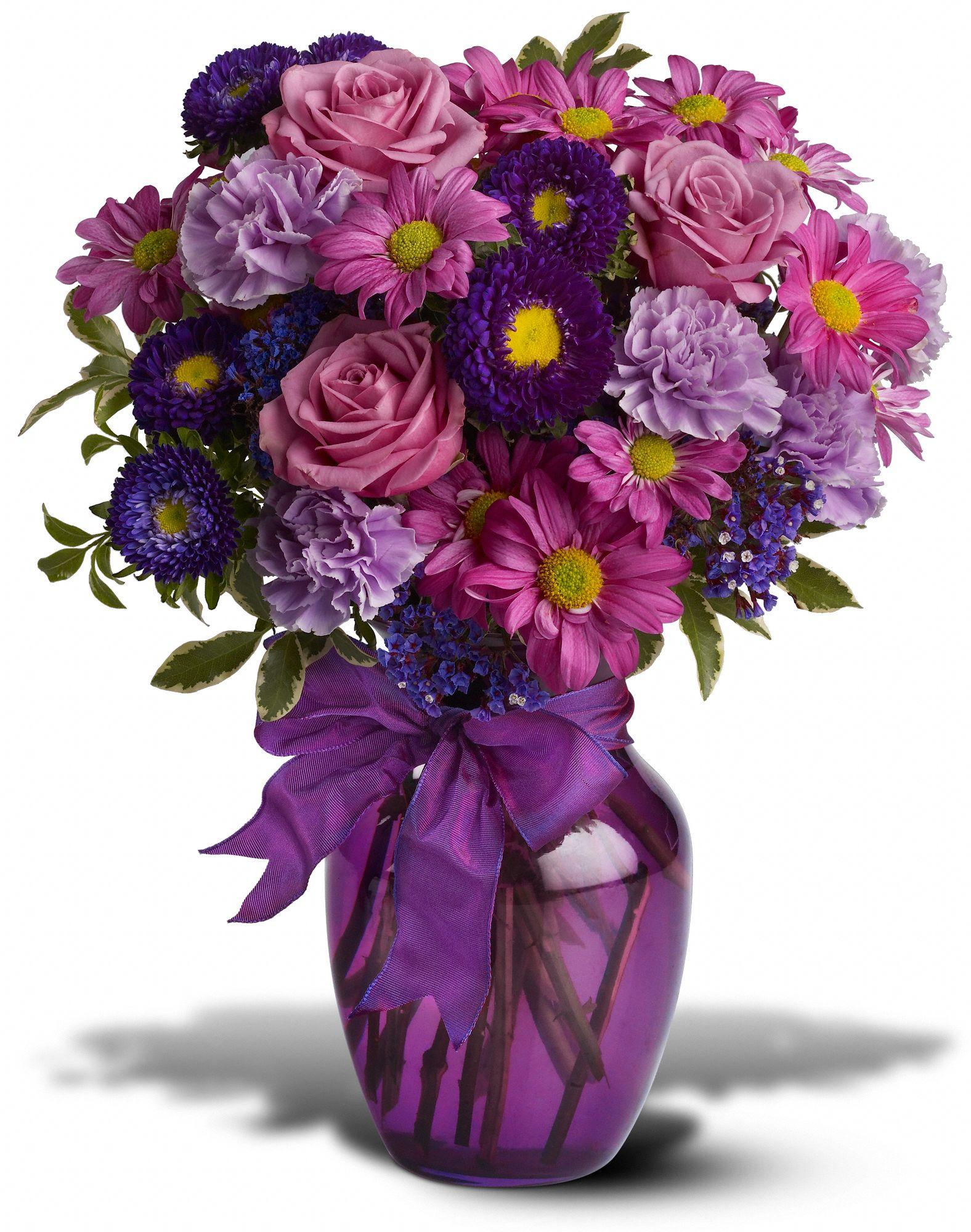 Everlasting Lavender Flower Bouquet