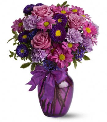 Everlasting Lavender Flower Bouquet