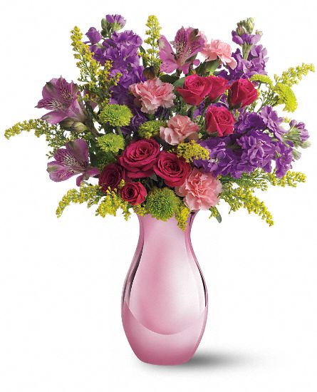 Teleflora's Joyful Garden Bouquet Flowers