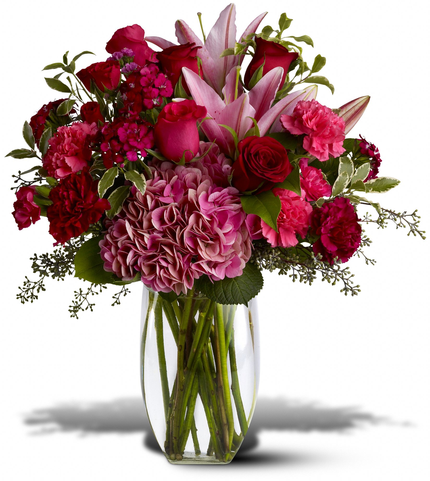 Burgundy Blush Flower Arrangement