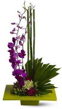 Zen Artistry Flowers, Zen Artistry Flower Bouquet - Teleflora.com