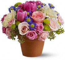 Spring Sonata Flowers, Spring Sonata Flower Bouquet - Teleflora.com
