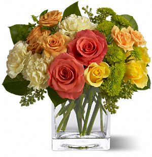 Teleflora's Citrus Splash Flowers, Teleflora's Citrus Splash Flower Bouquet - Teleflora.com