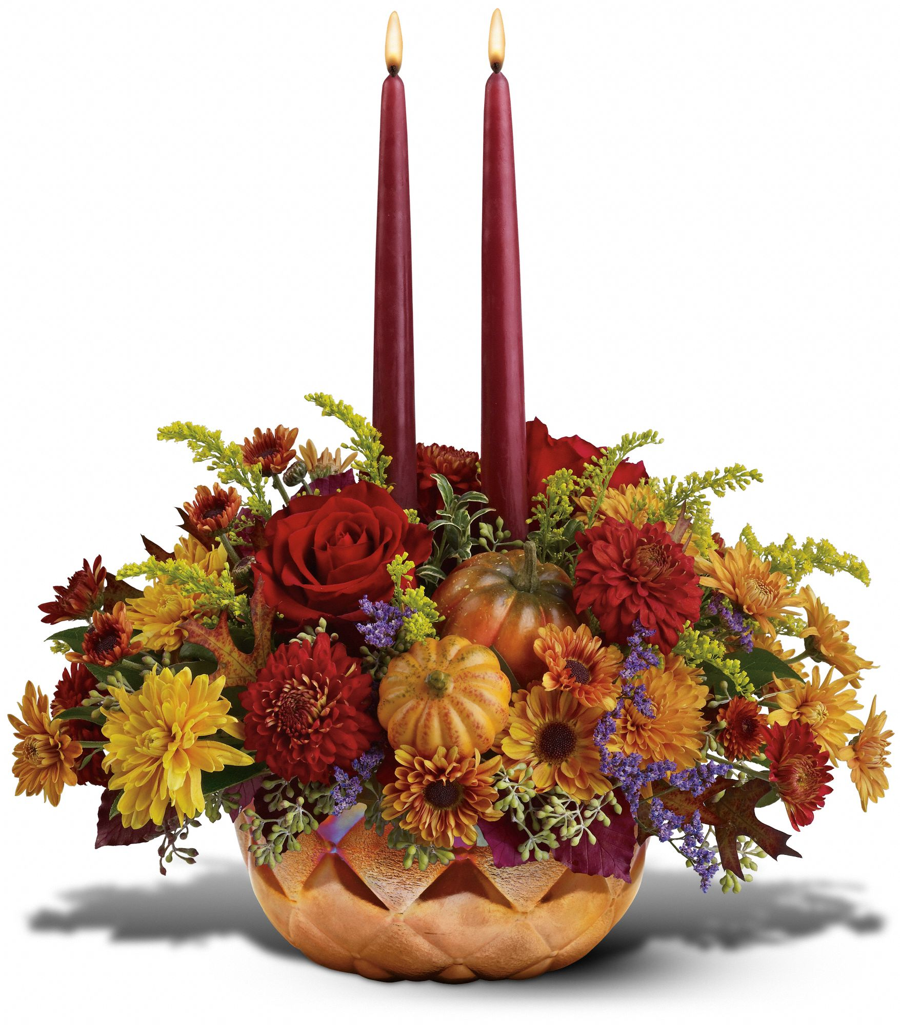 Beck Floral & Gift, Neosho, Missouri - Teleflora's Autumn Iridescence Bouquet, picture