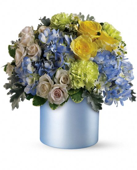 Heavenly Hues Flower Bouquet by Teleflora