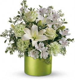 Teleflora's Sea Spray Bouquet Flowers
