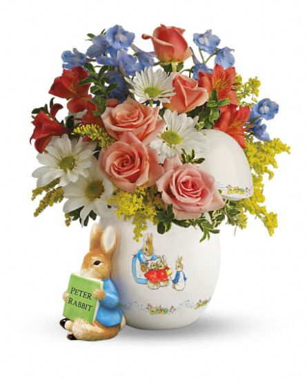 Teleflora's Peter Rabbit Bouquet Flowers