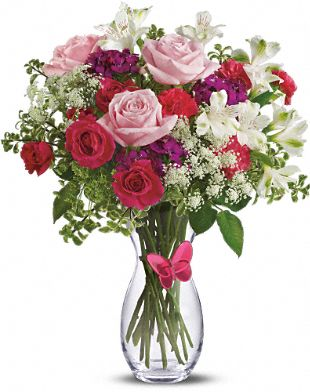 Mom's Butterfly Bouquet by Teleflora Flowers, Mom's Butterfly Bouquet by Teleflora Flower Bouquet - Teleflora.com