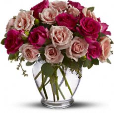 Roses are Pink Flowers, Roses are Pink Flower Bouquet - Teleflora.com