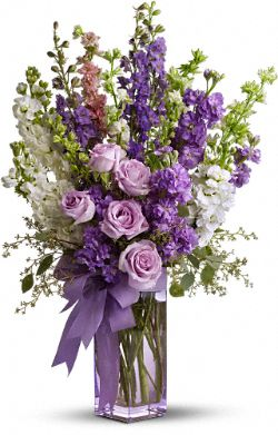 Teleflora's Pretty in Purple Flowers
