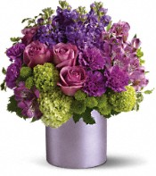 Teleflora's Purple Reign Flowers