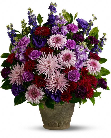 Teleflora's Straight From the Heart Flowers