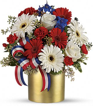 Teleflora's Patriotic Hope Bouquet