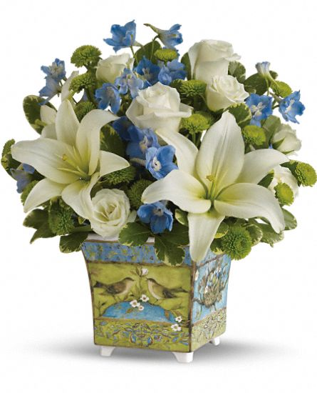 Susan Winget's Songbird Bouquet by Teleflora Flowers