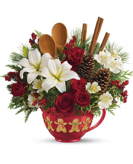 Teleflora's Mixing Bowl Bouquet Flowers