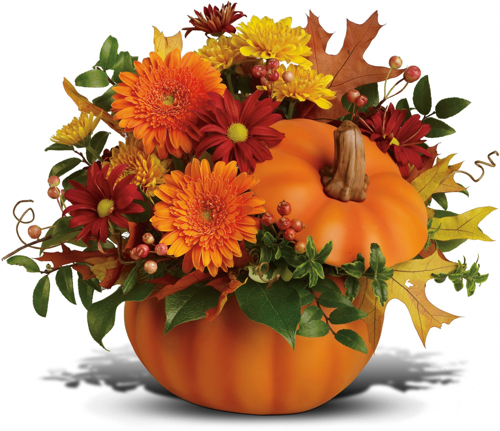 Teleflora's Somethin' Pumpkin Flowers