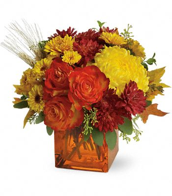 Teleflora's Autumn Expression Flowers