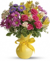 Teleflora's Color It Happy Flowers