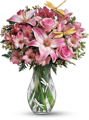 Teleflora s Dragonfly Bouquet from teleflora.com