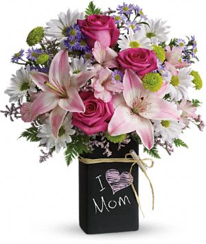 Teleflora's Chalk It Up Bouquet