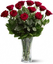 A Dozen Premium Red Roses Flowers