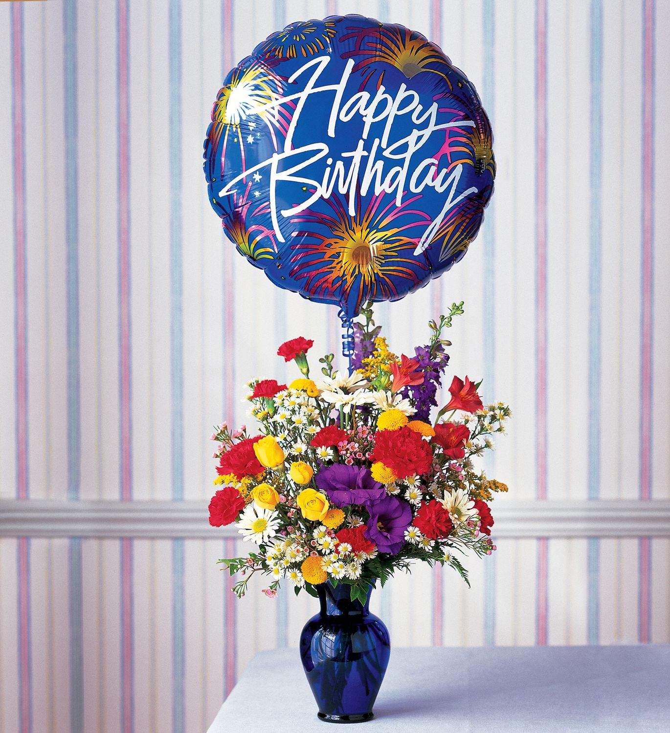 Hunt Valley Florals & Gifts, Hunt Valley, Maryland - Birthday Fireworks, picture