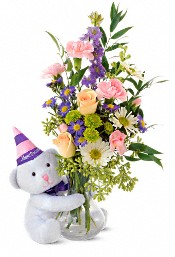 Teleflora's Party Bear Flowers